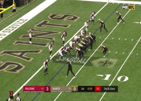 Every sack by the Falcons on Drew Brees   Week 10