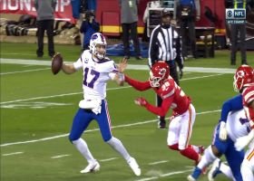 L'Jarius Sneed corrals Josh Allen for MASSIVE 15-yard loss on the sack
