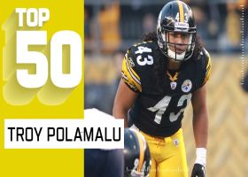 Troy Polamalu's Top 50 plays | NFL Throwback