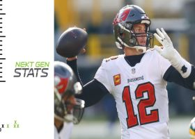 Next Gen Stats: Deep ball, pass rush send Brady to 10th Super Bowl