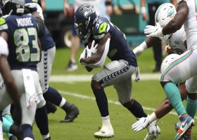 Seahawks capitalize off early INT with Chris Carson TD