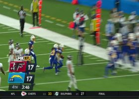 Jahleel Addae comes up with CLUTCH diving interception of Matt Ryan