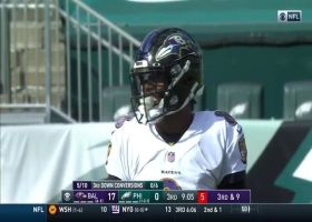 Jackson vs. Jackson: Malik chases down Lamar for big loss on sack