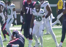 Marcus Maye is too quick off the edge for huge third-down sack