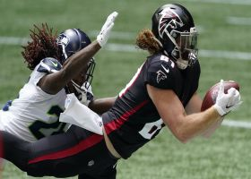 Can't-Miss Play: Hayden Hurst flies for first Falcons grab