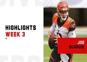 Joe Burrow's best throws from 312-yard game | Week 3