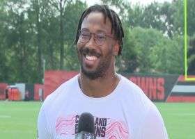 Myles Garrett shares how Browns stay motivated after successful 2020 season