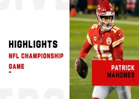Patrick Mahomes' best throws from 325-yard game | AFC Championship Game