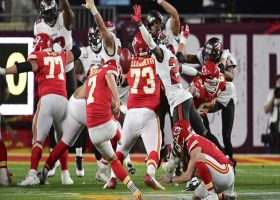 Harrison Butker booms 52-yard field goal through uprights