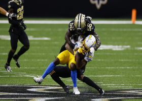 Marshon Lattimore drops Mike Williams short on fourth down to ICE win