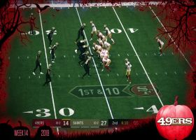 Trick Plays: 49ers' Emmanuel Sanders' 35-yard reverse-pass TD