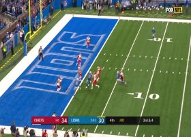 Juan Thornhill swats down Matthew Stafford's Hail Mary to seal Chiefs win