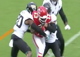 De'Anthony Thomas overpowers Ramsey for first-down catch