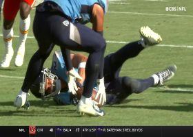 Titans recover Hardman's popcorn fumble inside 5-yard line