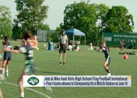 Jets, Nike host Girls High School Flag Football Invitational