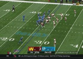 D'Andre Swift ratchets up speed on 26-yard catch and run