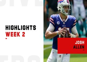 Josh Allen's best plays against the Dolphins | Week 2