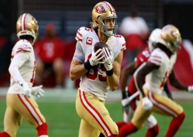 George Kittle bursts for 24 yards on first catch in return to action