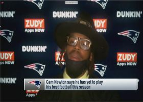 Cam Newton reflects on performance through 10 starts as a Patriot