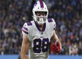 Garafolo: Bills 'hope' Dawson Knox won't miss much time with broken hand