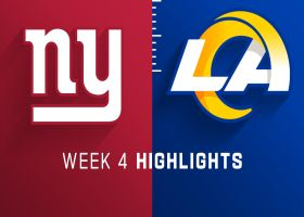 Giants vs. Rams highlights | Week 4