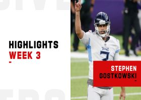 Every Stephen Gostkowski made FG vs. the Vikings | Week 3