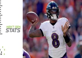 Ravens' new-look air attack to take center stage in Week 5 | Next Gen Edge
