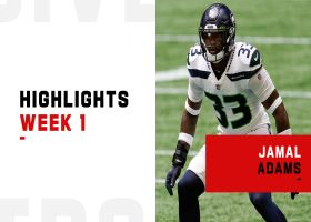 Jamal Adams' biggest plays from Seattle debut | Week 1