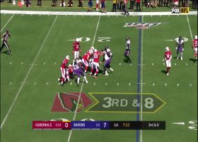Kyler Murray fumbled snap leads to Pernell McPhee sack on third down