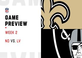 Saints vs. Raiders preview | Week 2