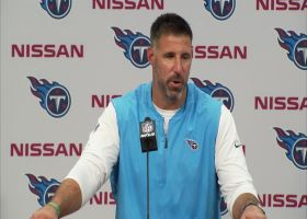 Titans postgame press conference