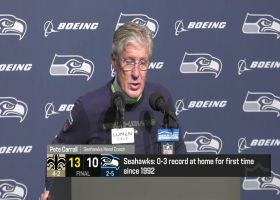 Pete Carroll reacts to Seahawks falling to 0-3 at home