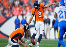 Brandon McManus' kick is money from 54 yards out
