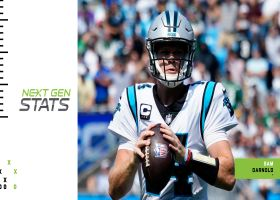 Next Gen Stats: Sam Darnold's 3 least probable completions | Week 1