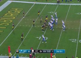 Blough buys time for 10-yard TD to toe-tapping McKinley