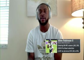 Allen Robinson discusses taking reps with Andy Dalton, Justin Fields