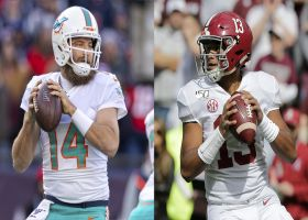Garafolo: Why Fins fans can 'expect' Fitzpatrick to start over Tua in 2020