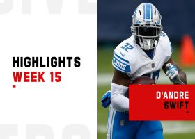 D'Andre Swift's biggest plays from 2-TD game | Week 15