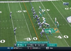 Jakeem Grant shows SPEED on fourth-and-3 conversion