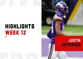 Every catch by Justin Jefferson from 2-TD game | Week 12