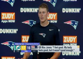 Mac Jones weighs in on his NFL debut vs. Dolphins