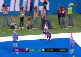 Cousins to Ham! Rookie FB catches first TD of career