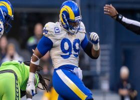 Aaron Donald becomes Rams' all-time sack leader with No. 88.5