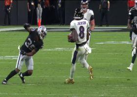 Lamar Jackson's elusive 28-yard dash puts Ravens in FG range