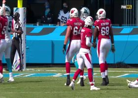Jordan Thomas' first catch with the Cardinals goes for TD