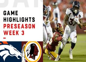 Redskins vs. Broncos highlights | Preseason Week 3