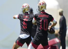 Garafolo: There's 'not a QB competition' for 49ers per Shanahan