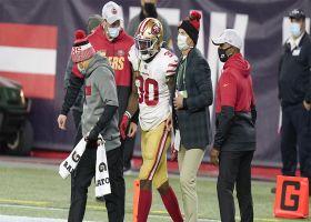 Rapoport: Jeff Wilson Jr. suffered ankle injury vs. Pats