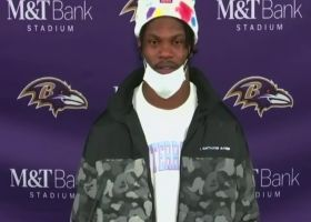 Lamar Jackson reacts to Ravens' second-straight loss