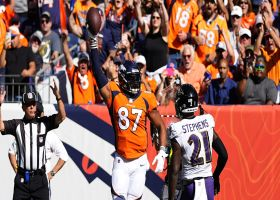 Broncos' rub routes frees up Noah Fant for open TD grab